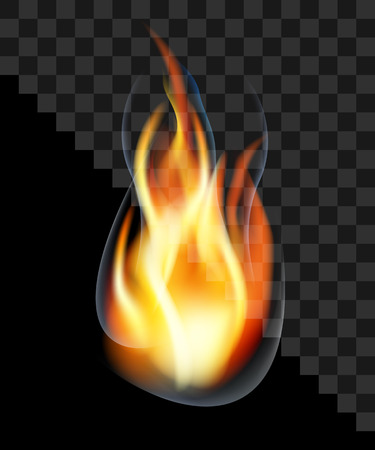 neerzetten brand fakkel brandende rook transparant.