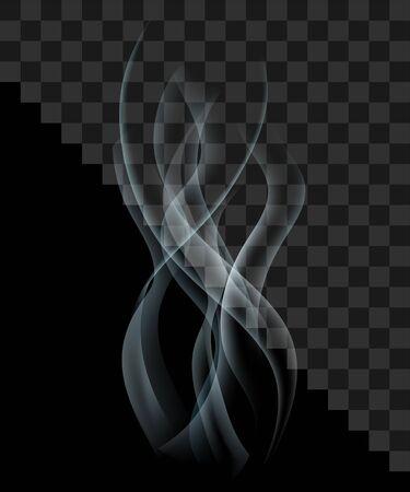translucent: Smoke steam flies hovering translucent transparent.