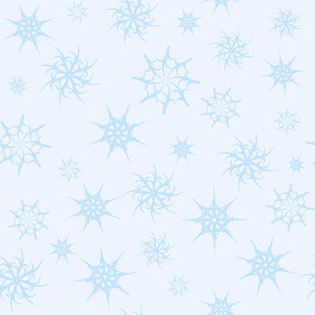 gossamer: seamless background gossamer star light blue color 2