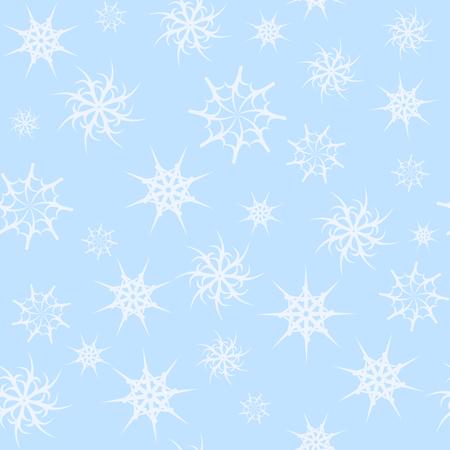 gossamer: seamless background gossamer star light blue color