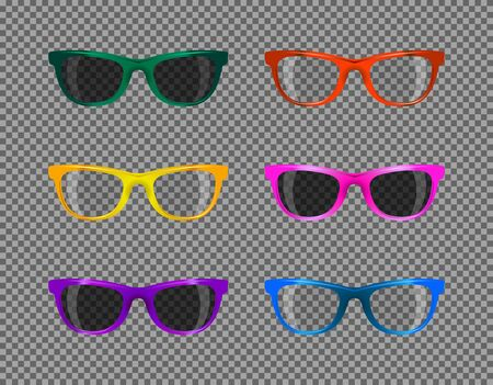 translucent: translucent fashion sunglasses various colors set