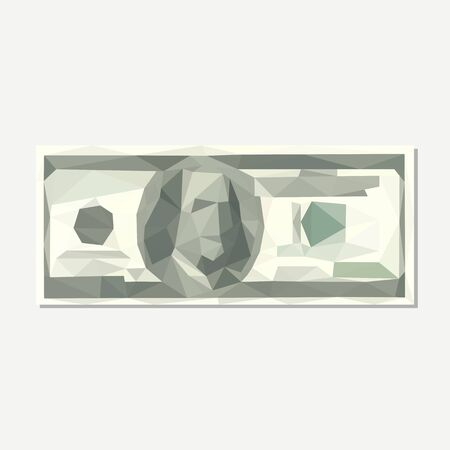 obtain: polygonal hundred-dollar bill accuracy