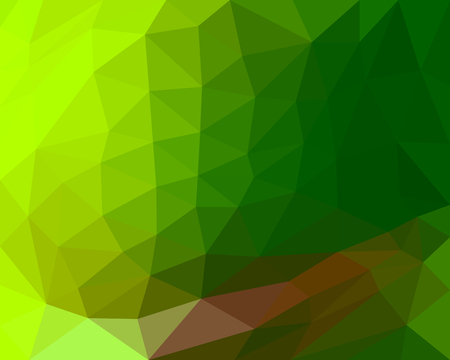 hue: polygon background beautiful color gradient green hue Illustration