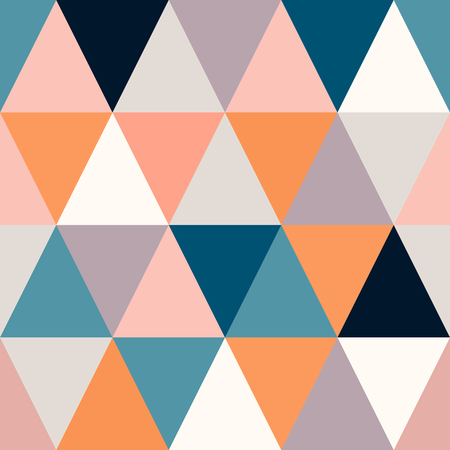 background of many small triangles of different colors polygonal