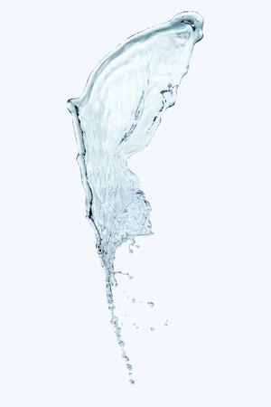 water butterfly wing splash