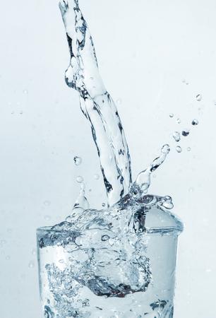 water splash glass Stok Fotoğraf