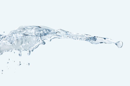 water splash horizont Stok Fotoğraf