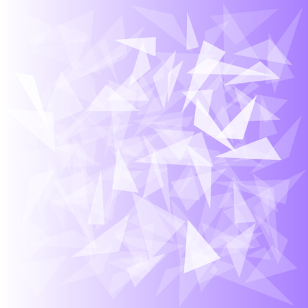 purple background with translucent triangles Ilustracja
