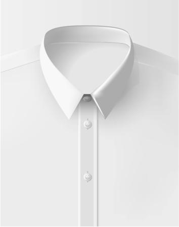 Vector Shirt Folded Isolated White