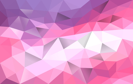 polygonal background gradient from purple to pink