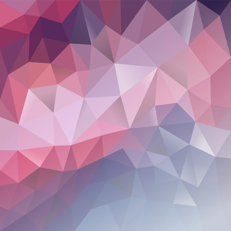 polygonal background gradient purple to light Ilustracja