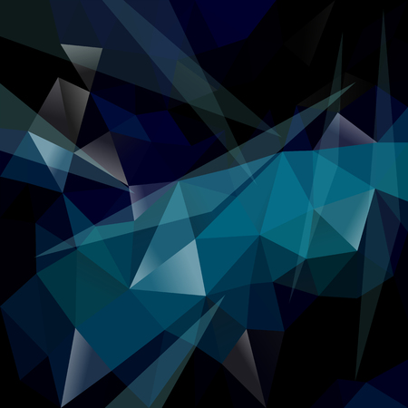 polygonal background gradient dark blue Ilustracja