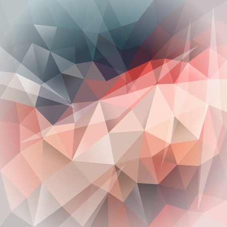 polygonal background gradient gray purple to light Ilustracja