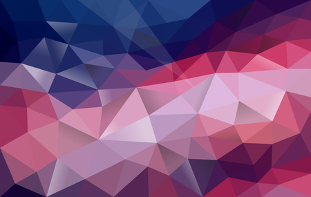 polygonal background gradient blue to purple Stok Fotoğraf - 110033947