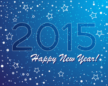 mythical festive: vector of abstract new year graphic and background