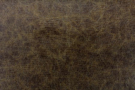 flay: Texture background of dark brown leather Stock Photo
