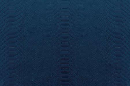 azul marino: Fondo de la textura del cuero del reptil de color azul marino