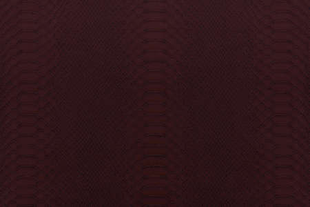 reptile: Texture background of red dark reptile leather