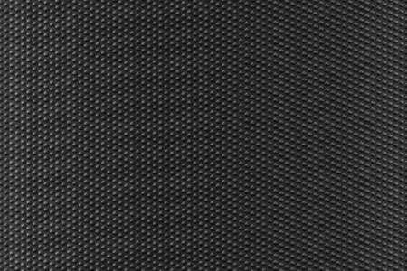 flay: Texture background of black pvc vinyl button striped