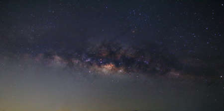 Milky way and many stars on night sky