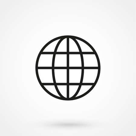 webhost: website icon vector