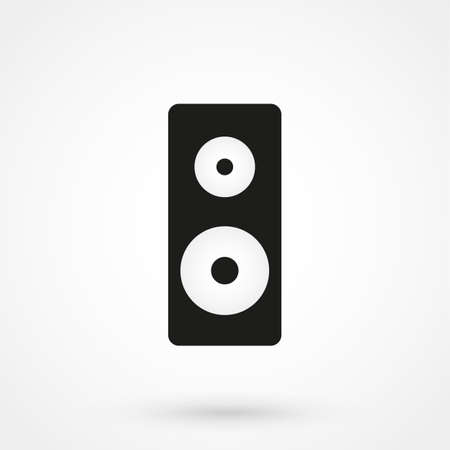 stereo: Stereo speake? icon vector