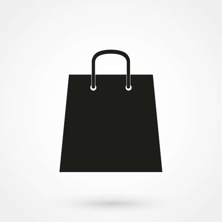 shoping: shoping bag icon Illustration