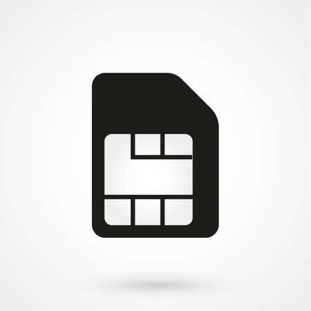 sim: SIM card icon