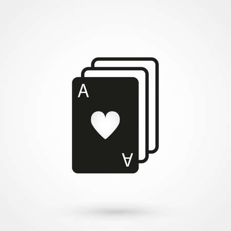 game cards: game cards icon vector