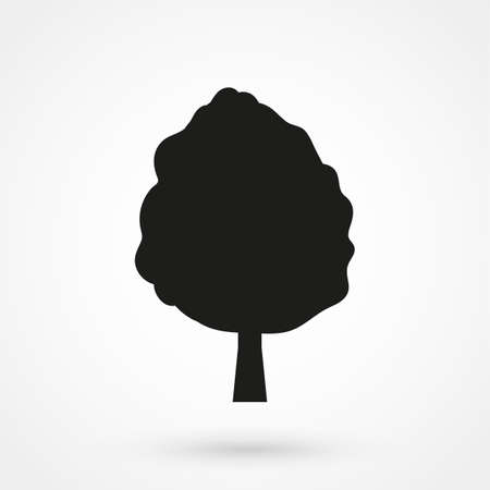 reforestation: tree icon vector