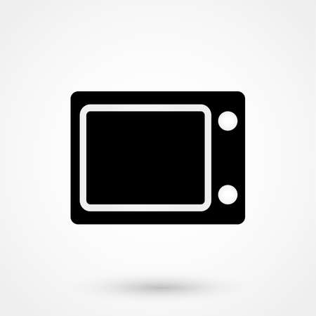 microwave: microwave icon vector