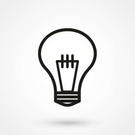 ampoule icône vecteur Vecteurs