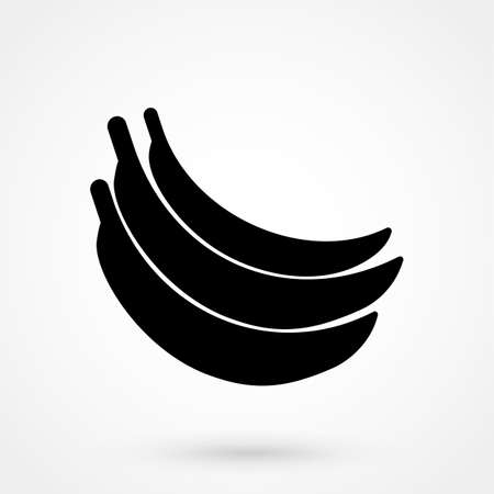 Banana Simple Sign Jeans Style Icon On White Background Royalty
