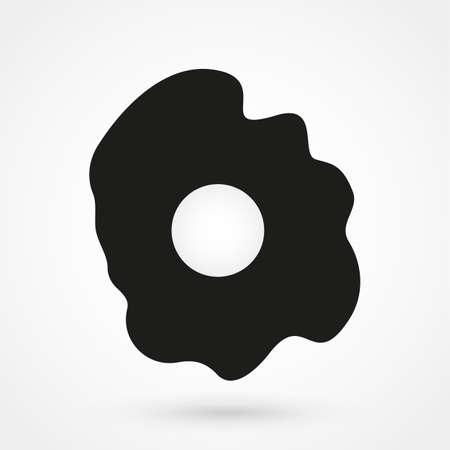omelet: omelet icon vector Illustration