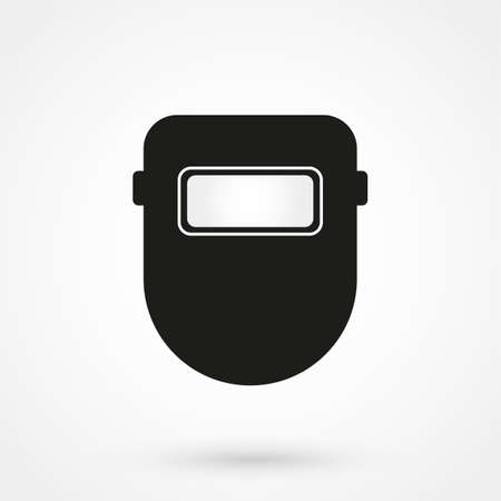 protective: Protective welding goggles icon