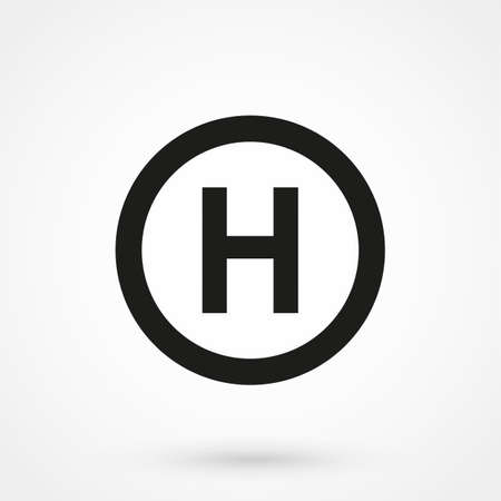 pad: Helicopter landing pad icon