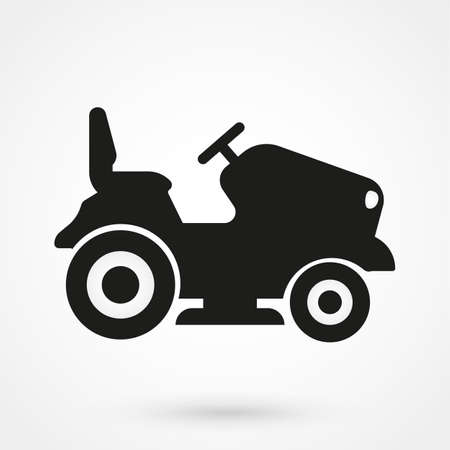 lawn tractor icon
