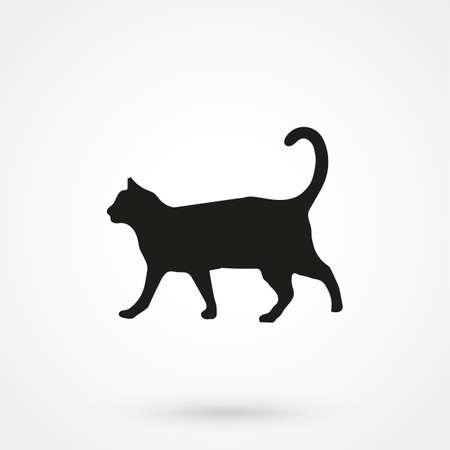 animal pussy: cat icon