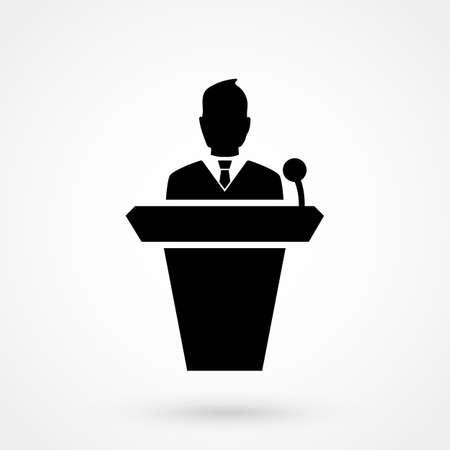 Speaker icon Illustration