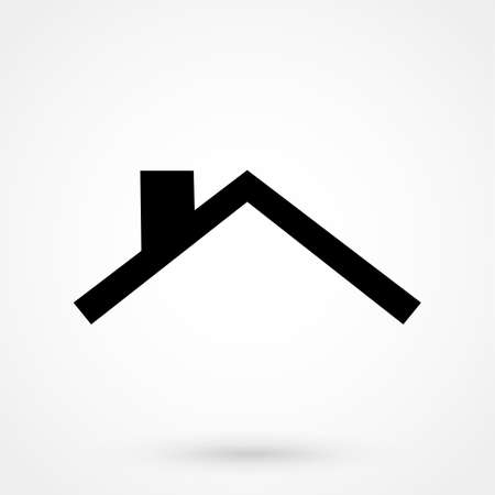 roofer: roof icon Illustration