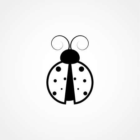 ladybug icon. ladybug sign