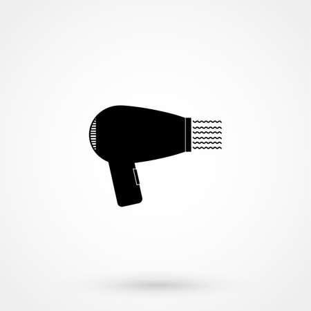 hairdryer: Hairdryer - vector icon