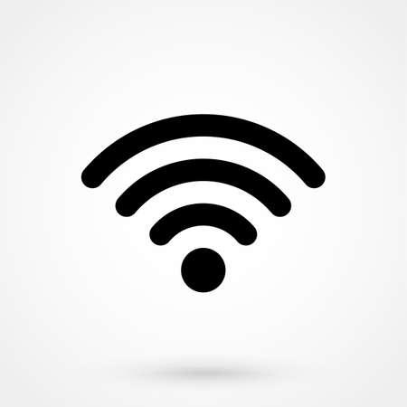 mobile website: Wi-Fi Icon Illustration