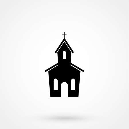 fellowship: church Icon. Illustration