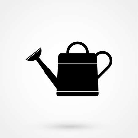 watering can Icon isolated on backdrop