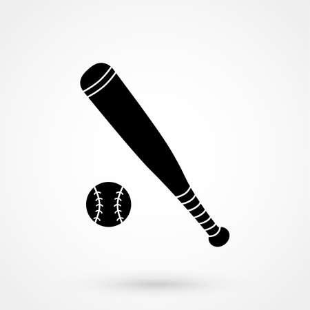 bunt: Baseball Icon Illustration