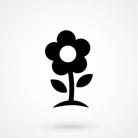 Vector flower Icon Illustration
