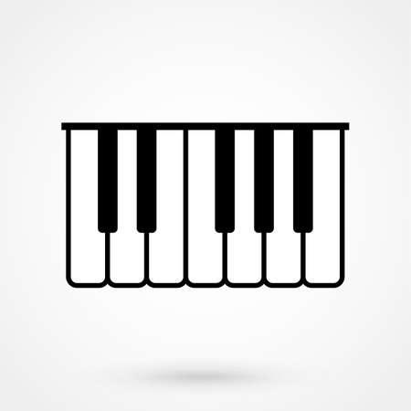 piano vector icon Stock fotó - 90037357