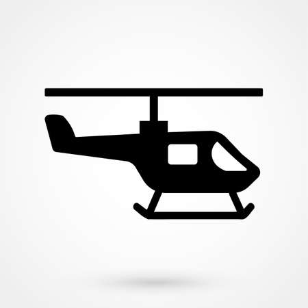 air traffic: Helicopter icon.