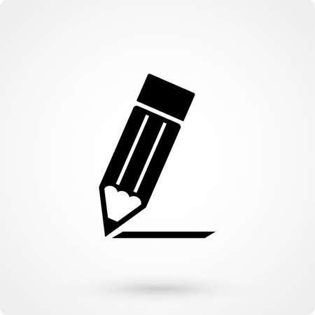 Pencil Icon Vector.